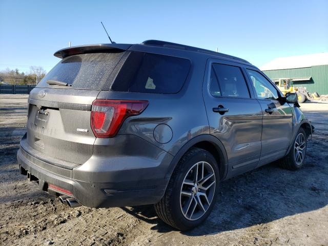 2018 FORD EXPLORER S - Right Rear View