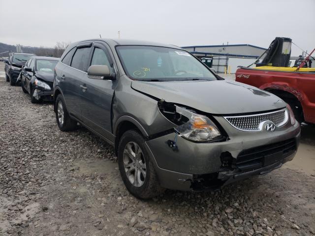 Salvage cars for sale from Copart Alorton, IL: 2009 Hyundai Veracruz