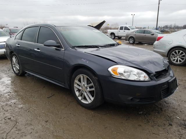 Salvage cars for sale at Indianapolis, IN auction: 2010 Chevrolet Impala LTZ