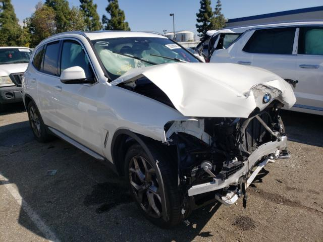 Salvage cars for sale from Copart Rancho Cucamonga, CA: 2021 BMW X3 XDRIVE3
