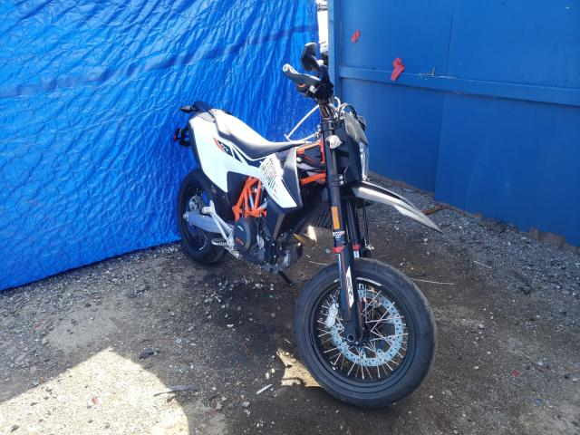 KTM salvage cars for sale: 2020 KTM 690 SMC R