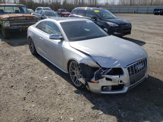Salvage cars for sale from Copart Arlington, WA: 2012 Audi S5 Prestige
