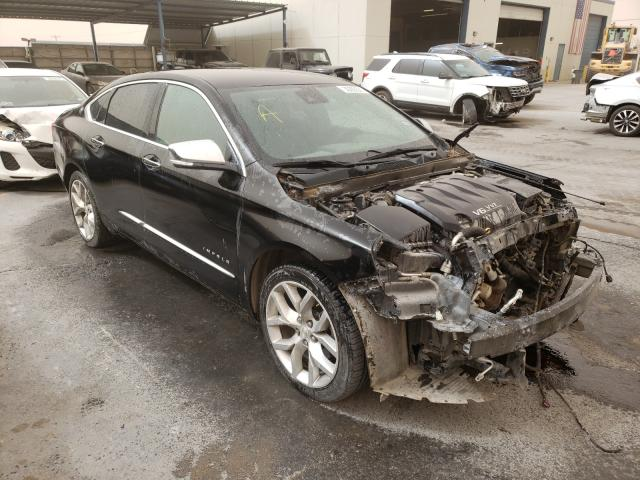 Salvage cars for sale from Copart Anthony, TX: 2017 Chevrolet Impala PRE