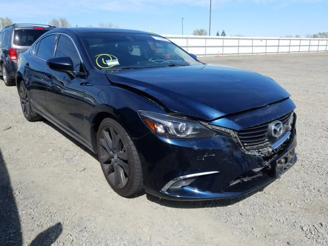 Mazda Vehiculos salvage en venta: 2016 Mazda 6 Grand Touring