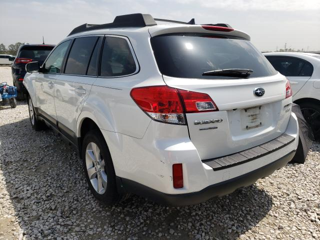 2014 SUBARU OUTBACK 2. - Right Front View