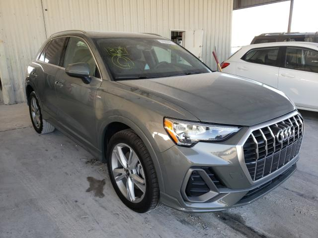 Salvage cars for sale from Copart Homestead, FL: 2021 Audi Q3 Premium