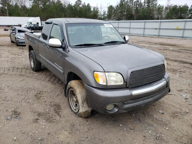 Salvage cars for sale from Copart Charles City, VA: 2003 Toyota Tundra ACC