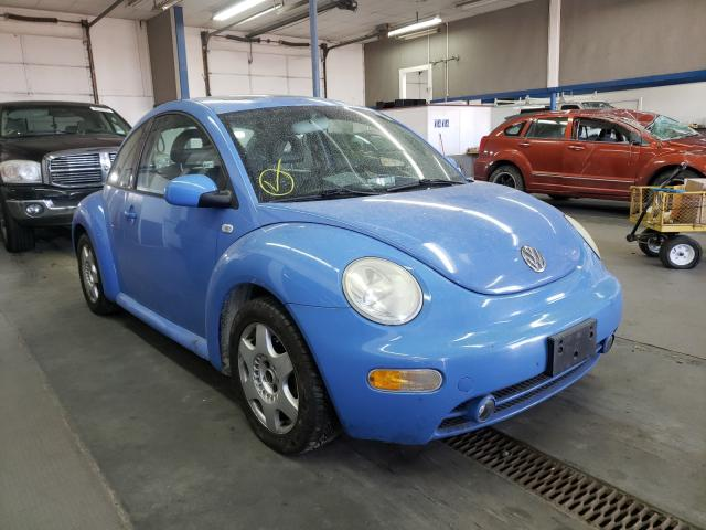 Salvage cars for sale from Copart Pasco, WA: 2001 Volkswagen New Beetle
