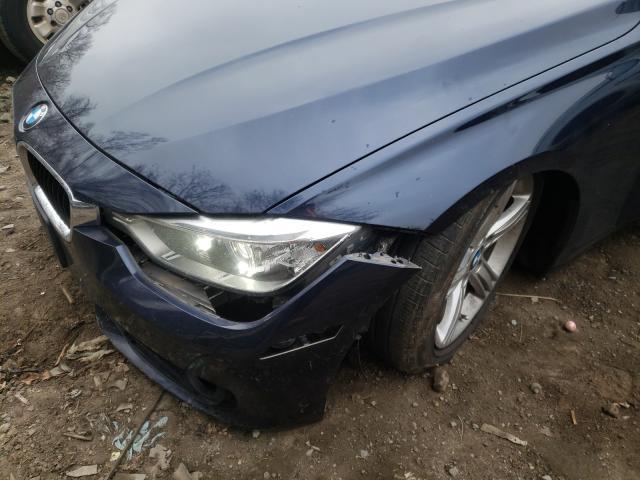 2015 BMW 320 I XDRI - Odometer View