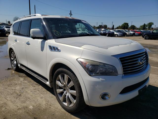 Infiniti salvage cars for sale: 2012 Infiniti QX56