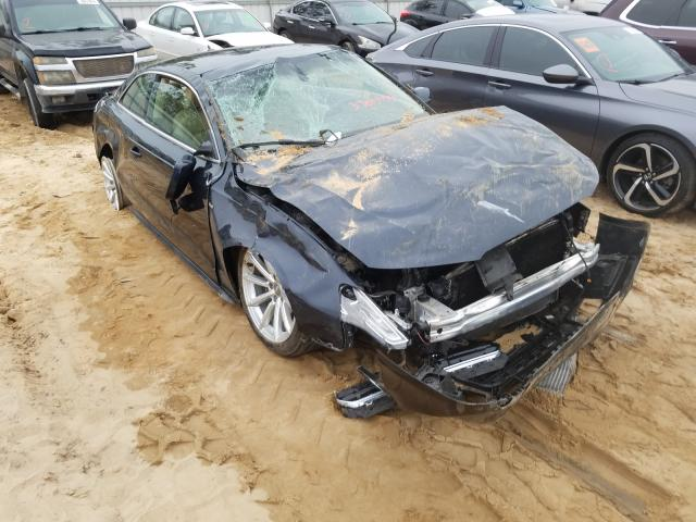 Salvage cars for sale from Copart Gaston, SC: 2015 Audi A5 Premium