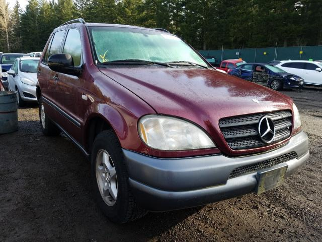 Salvage cars for sale from Copart Graham, WA: 1999 Mercedes-Benz ML320
