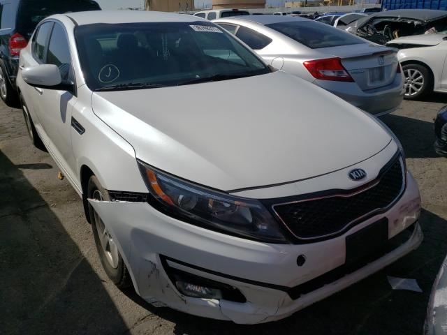 Salvage cars for sale from Copart Colton, CA: 2015 KIA Optima LX