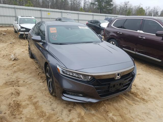 Salvage cars for sale from Copart Gaston, SC: 2018 Honda Accord Sport