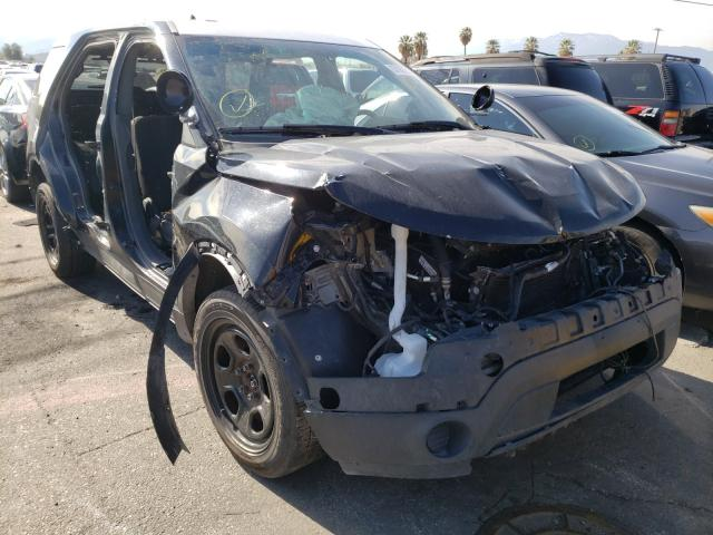 Salvage cars for sale from Copart Colton, CA: 2015 Ford Explorer P