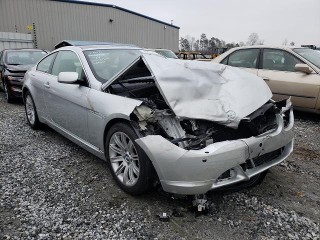 Salvage cars for sale from Copart Spartanburg, SC: 2006 BMW 650 I