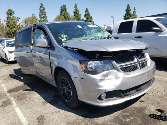 Salvage cars for sale from Copart Rancho Cucamonga, CA: 2019 Dodge Grand Caravan