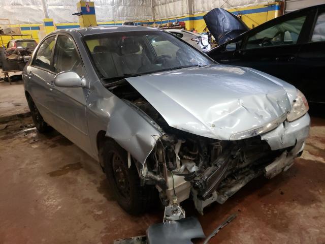 KIA salvage cars for sale: 2007 KIA Spectra EX