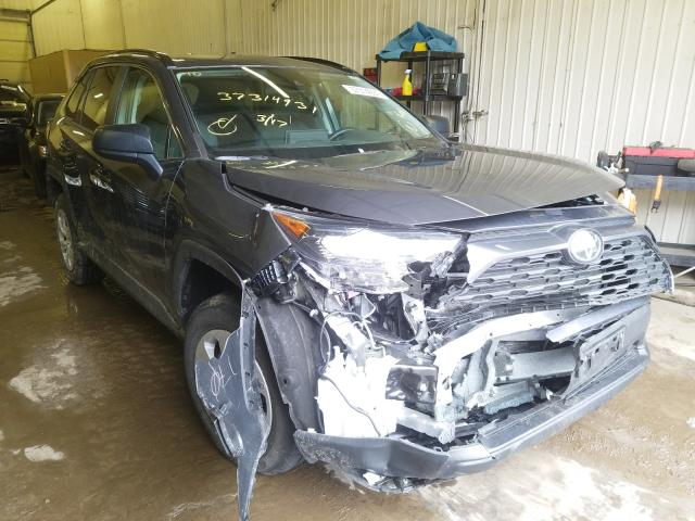Salvage cars for sale from Copart Ham Lake, MN: 2020 Toyota Rav4 LE
