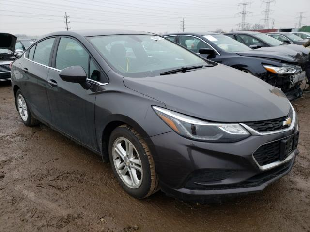 Salvage cars for sale from Copart Elgin, IL: 2016 Chevrolet Cruze LT