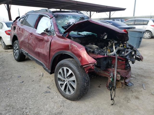 Salvage cars for sale from Copart Temple, TX: 2020 Subaru Outback PR
