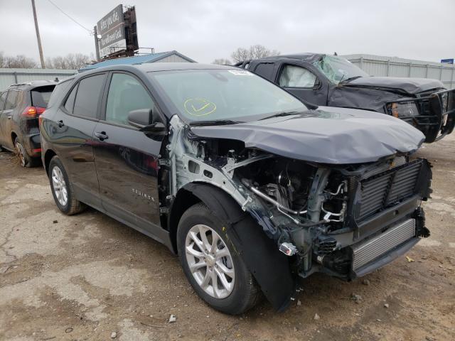 Salvage cars for sale from Copart Wichita, KS: 2020 Chevrolet Equinox LS