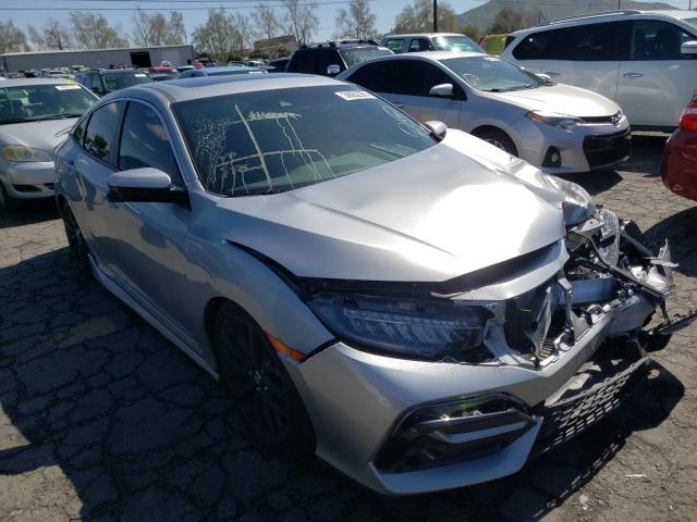 Salvage cars for sale from Copart Colton, CA: 2020 Honda Civic SI
