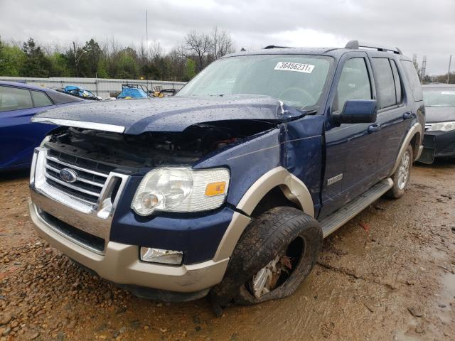 2007 FORD EXPLORER E - Left Front View