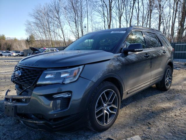 2018 FORD EXPLORER S - Left Front View