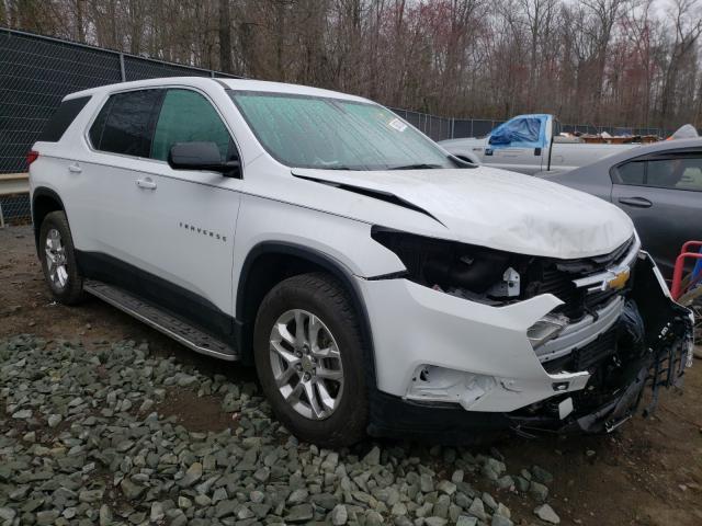 Vehiculos salvage en venta de Copart Waldorf, MD: 2019 Chevrolet Traverse L