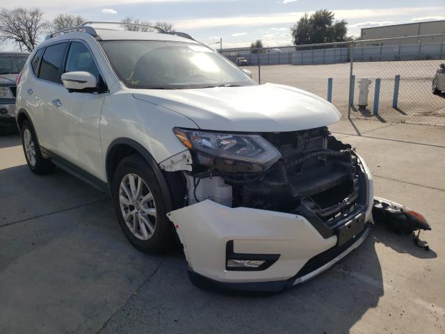Nissan salvage cars for sale: 2017 Nissan Rogue SV