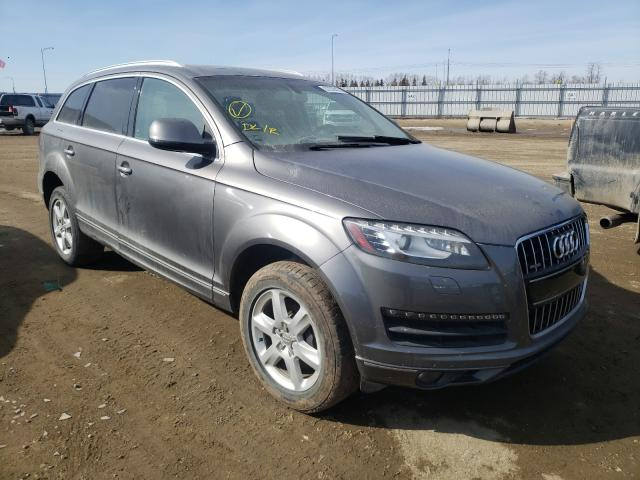 Salvage cars for sale from Copart Nisku, AB: 2010 Audi Q7 4.2