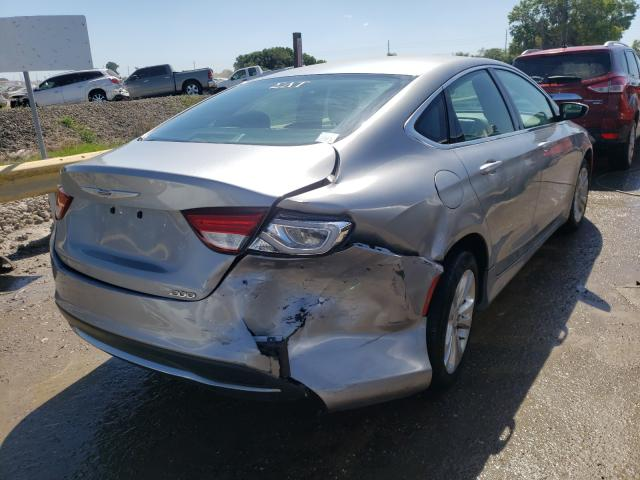 2015 CHRYSLER 200 LIMITE - Right Rear View