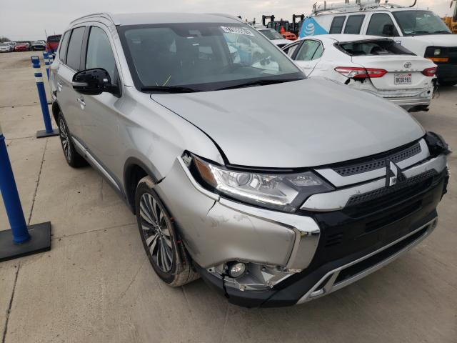 Salvage cars for sale from Copart Grand Prairie, TX: 2020 Mitsubishi Outlander