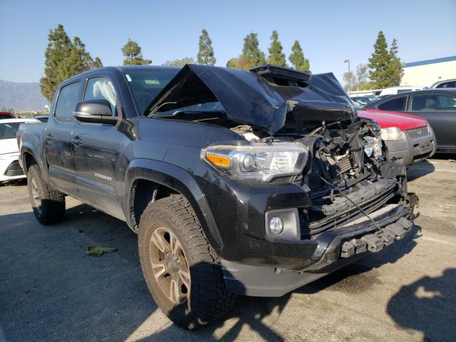 Salvage cars for sale from Copart Rancho Cucamonga, CA: 2016 Toyota Tacoma DOU