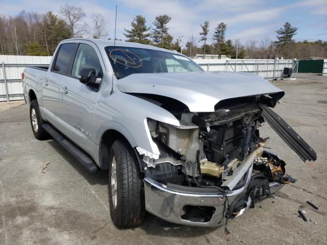 Salvage cars for sale from Copart Exeter, RI: 2018 Nissan Titan S