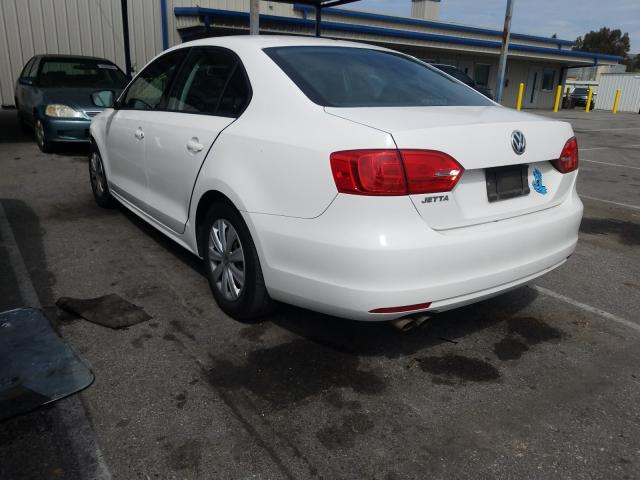 2013 VOLKSWAGEN JETTA BASE - Right Front View