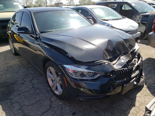 Salvage cars for sale from Copart Colton, CA: 2017 BMW 330 I
