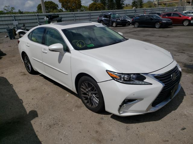 Salvage cars for sale from Copart Miami, FL: 2018 Lexus ES 350