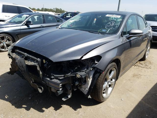 2013 FORD FUSION SE - Left Front View