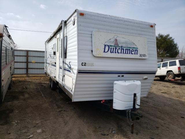 Dutchmen Travel Trailer salvage cars for sale: 2003 Dutchmen Travel Trailer