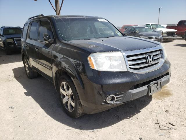 Salvage cars for sale from Copart Temple, TX: 2013 Honda Pilot Touring