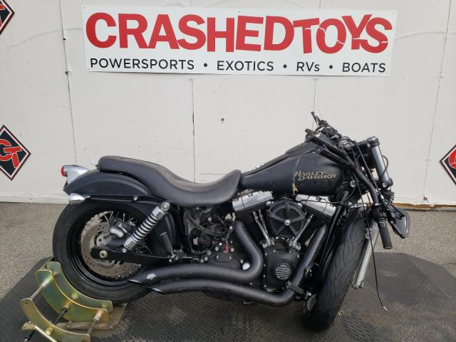 Salvage cars for sale from Copart Van Nuys, CA: 2010 Harley-Davidson Fxdb