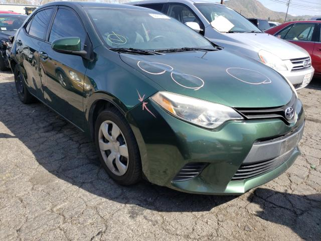 Salvage cars for sale from Copart Colton, CA: 2014 Toyota Corolla L