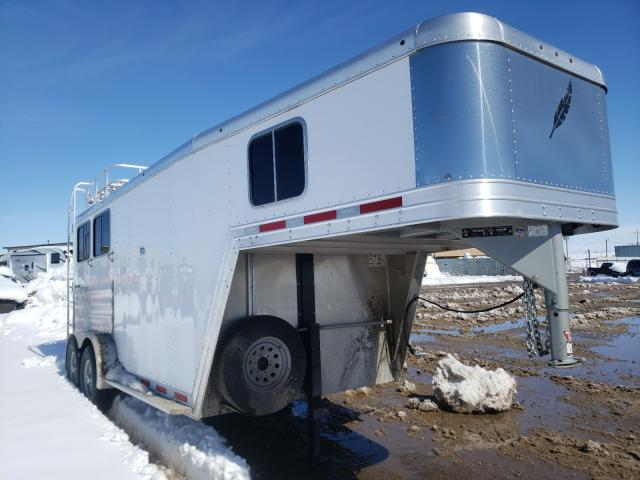 Featherlite Mfg Inc Horse Trailer salvage cars for sale: 2017 Featherlite Mfg Inc Horse Trailer