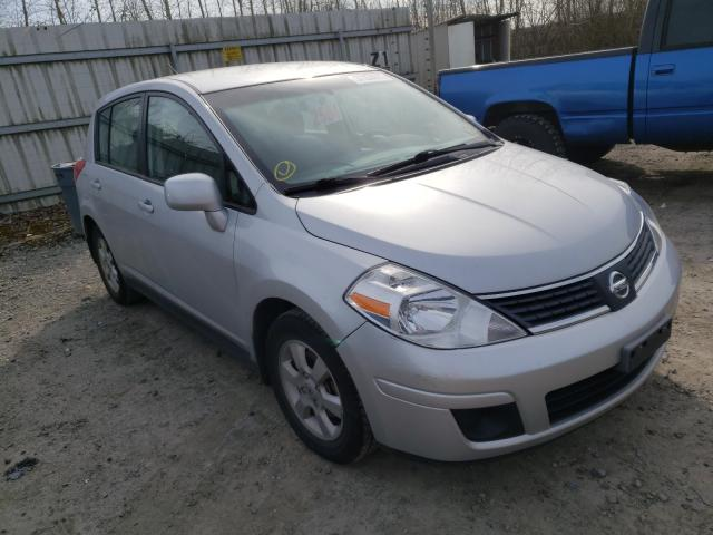 Salvage cars for sale from Copart Arlington, WA: 2009 Nissan Versa S