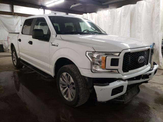 Salvage cars for sale from Copart Ebensburg, PA: 2018 Ford F150 Super