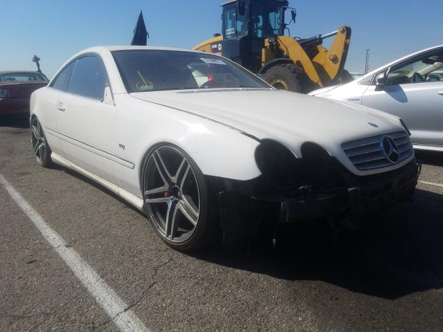 Mercedes-Benz salvage cars for sale: 2004 Mercedes-Benz CL 55 AMG