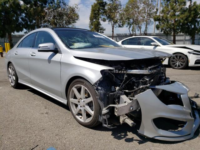 Salvage cars for sale from Copart Rancho Cucamonga, CA: 2014 Mercedes-Benz CLA 250