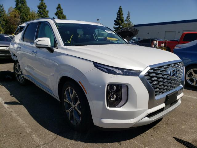 Salvage cars for sale from Copart Rancho Cucamonga, CA: 2021 Hyundai Palisade L